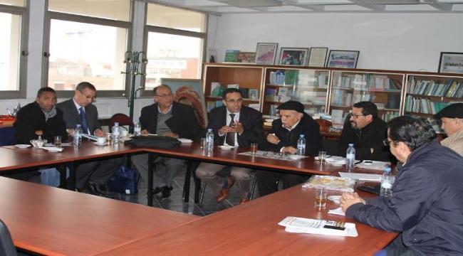 المكتب التنفيذي للكونفدرالية يعقد لقاء مع الجمعية المغربية لحماية المال العام